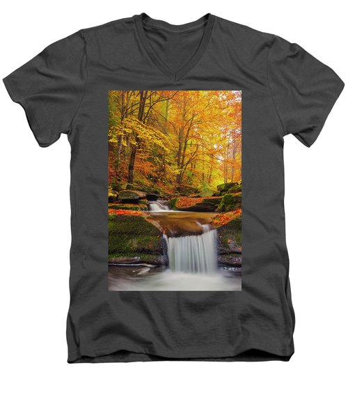 River Rapid Men's V-Neck T-Shirt