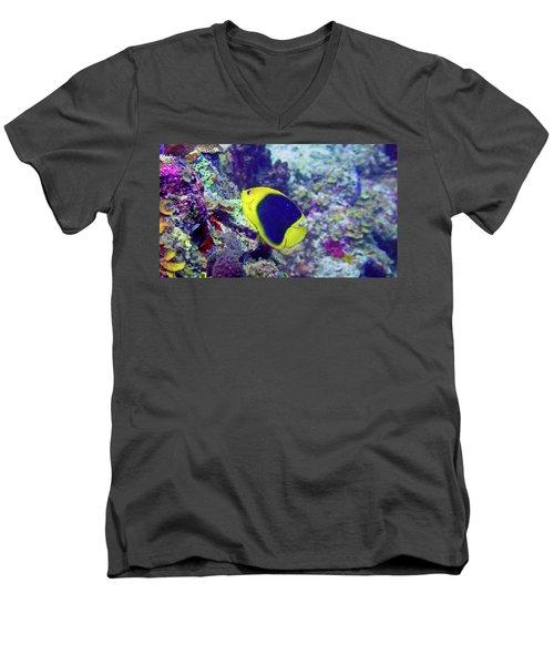 Rock Beauty Men's V-Neck T-Shirt
