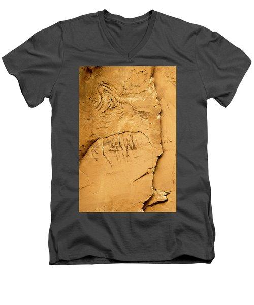 Rock Face Men's V-Neck T-Shirt