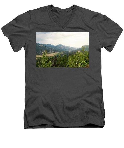 Rocky Mountain Overlook Men's V-Neck T-Shirt
