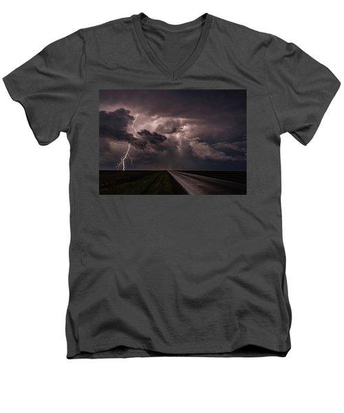 Rollin On Down The Road Men's V-Neck T-Shirt