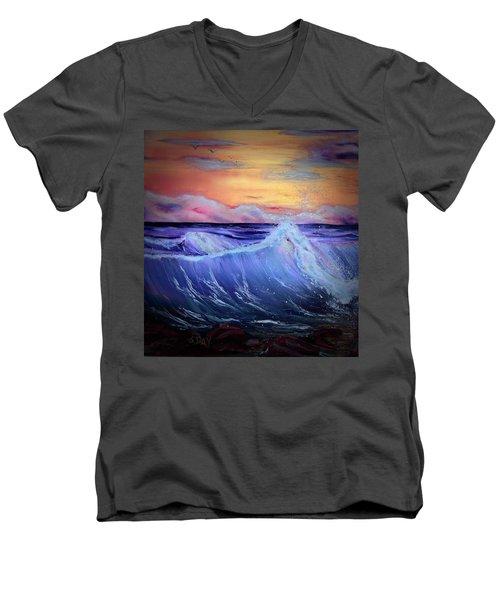 Rollin On The Rocks Men's V-Neck T-Shirt
