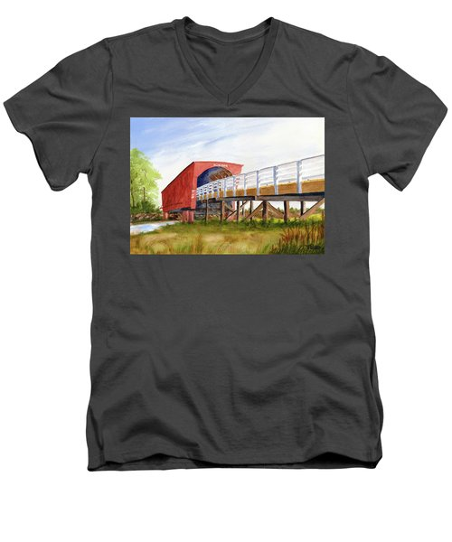 Roseman Bridge Men's V-Neck T-Shirt