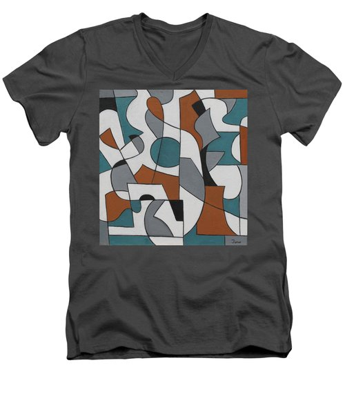 Roundabout Men's V-Neck T-Shirt