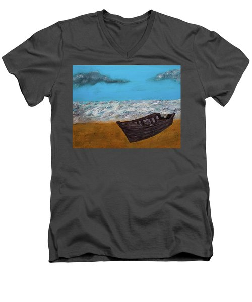Row Your Boat Men's V-Neck T-Shirt
