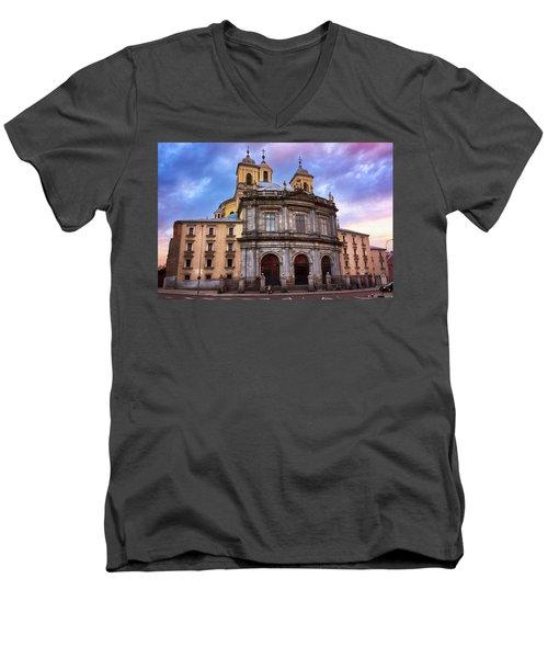 Royal Basilica Of San Francisco El Grande Men's V-Neck T-Shirt