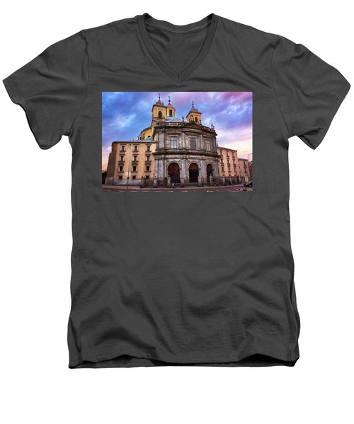 Royal Basilica Of San Francisco El Grande Men's V-Neck T-Shirt