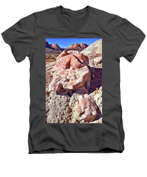 Ruby Mountain 103 Men's V-Neck T-Shirt