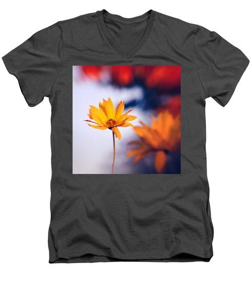 Rudbeckia Grandiflora 2 Men's V-Neck T-Shirt