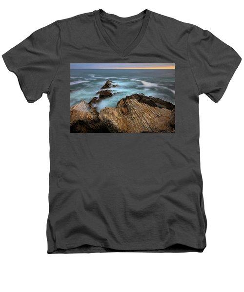 Rugged Beauty  Men's V-Neck T-Shirt