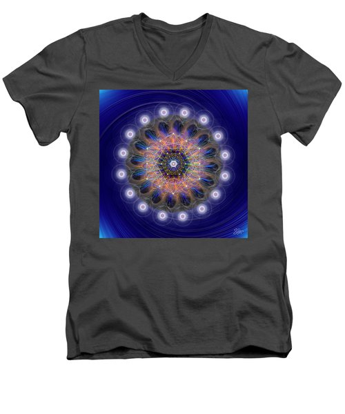 Sacred Geometry 726 Men's V-Neck T-Shirt
