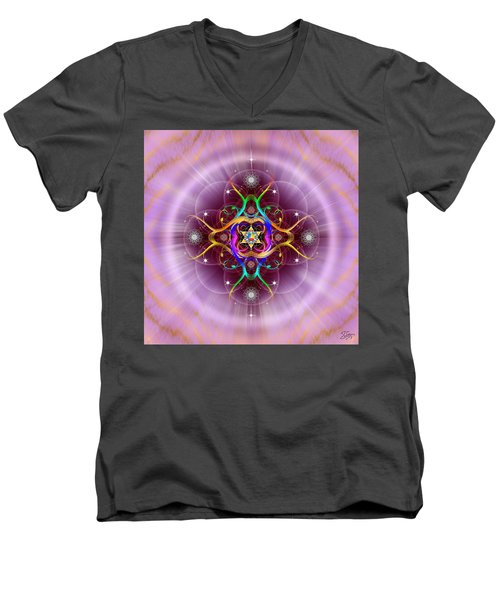 Sacred Geometry 757 Men's V-Neck T-Shirt