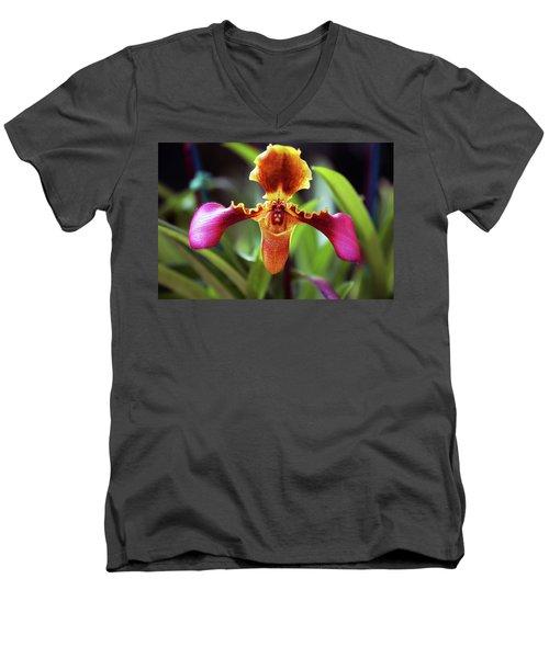 Sad Orchid Men's V-Neck T-Shirt