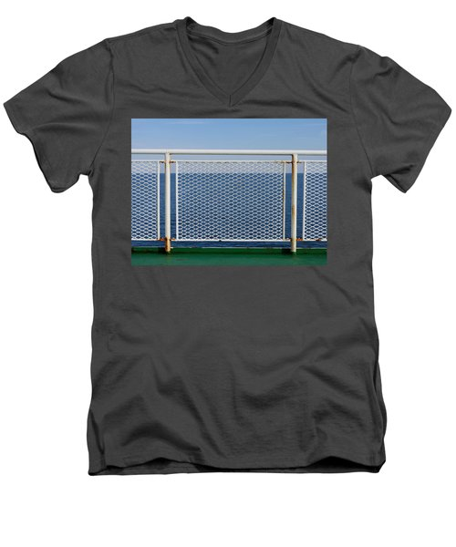 Safety First Men's V-Neck T-Shirt