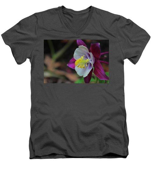 Saffron Stamens I Men's V-Neck T-Shirt