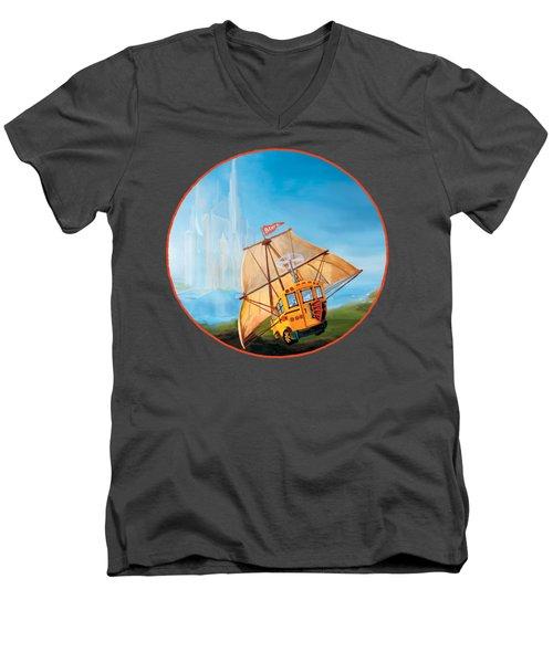 Sailbus Men's V-Neck T-Shirt