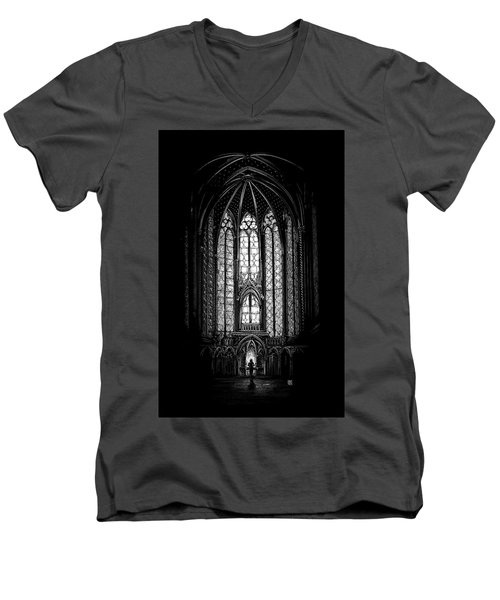 Sainte-chapelle Men's V-Neck T-Shirt