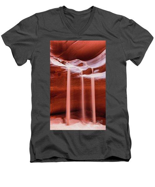 Sand Of Time Men's V-Neck T-Shirt