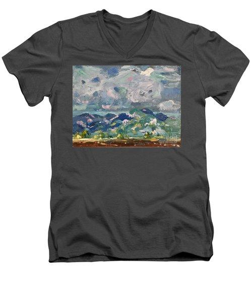 Sangre De Cristo Men's V-Neck T-Shirt