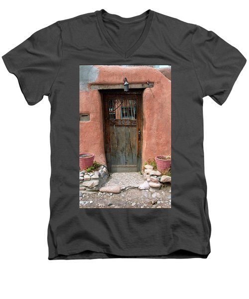 Santa Fe Door Men's V-Neck T-Shirt