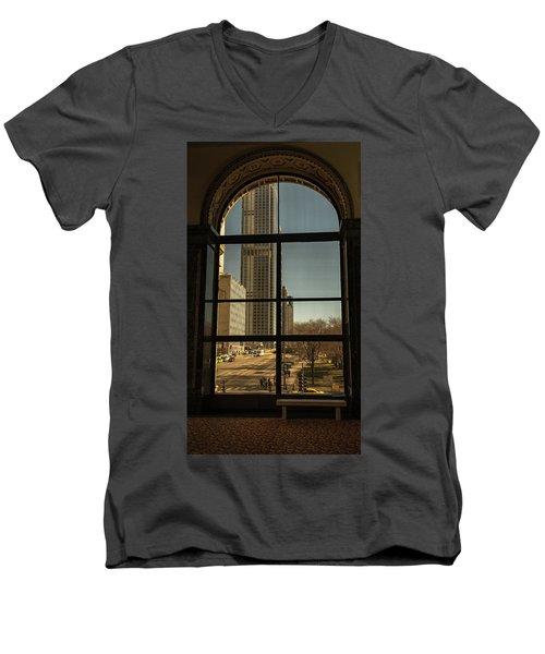 Sculpted View Men's V-Neck T-Shirt