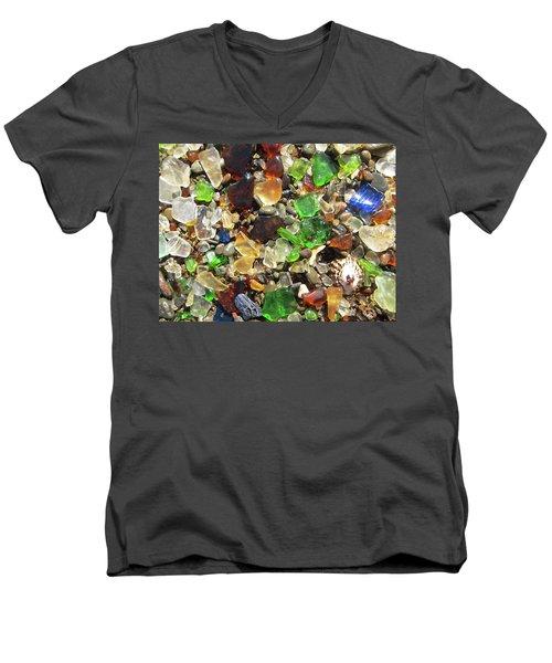 Sea Glass Men's V-Neck T-Shirt