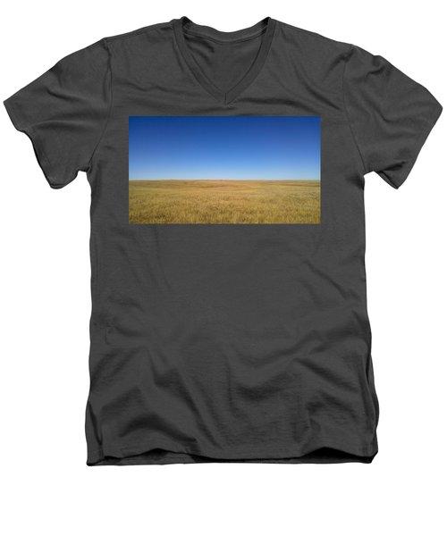 Sea Of Grass Men's V-Neck T-Shirt