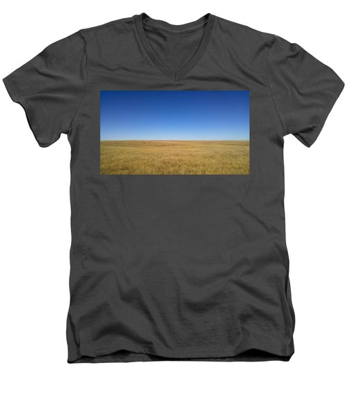 Sea Of Grass Men's V-Neck T-Shirt