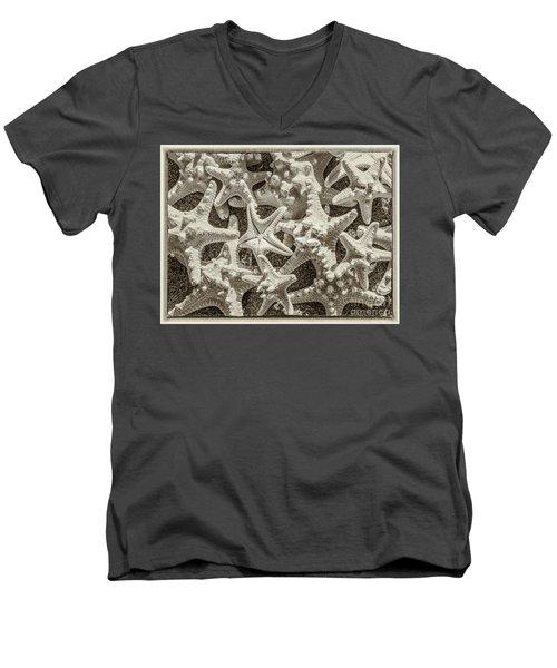 Sea Stars Men's V-Neck T-Shirt