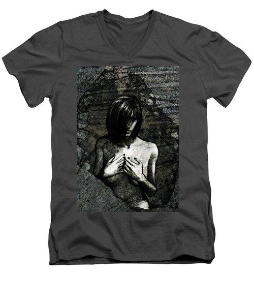 Secret Best Kept Men's V-Neck T-Shirt
