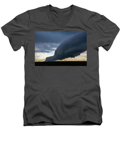 September Thunderstorms 003 Men's V-Neck T-Shirt
