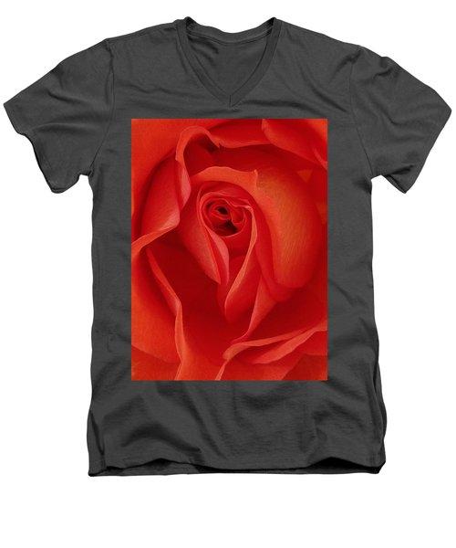 Shades Of O'keeffe Men's V-Neck T-Shirt