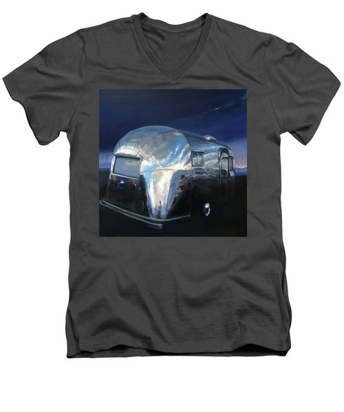 Shelter From The Approaching Storm Men's V-Neck T-Shirt