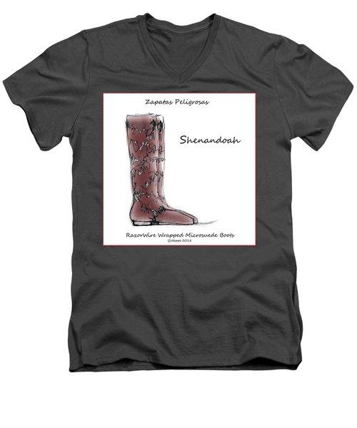 Shenandoah Men's V-Neck T-Shirt