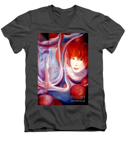 Shirley Incarnate Men's V-Neck T-Shirt