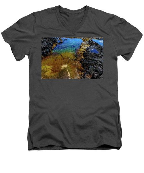 Shore Colors Men's V-Neck T-Shirt