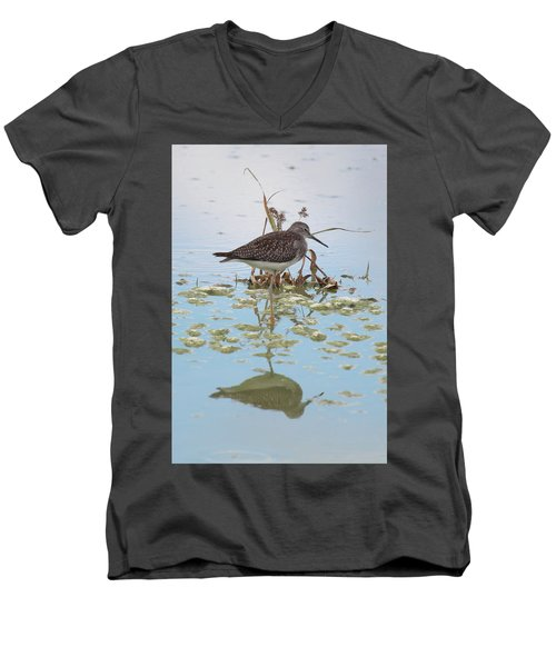 Shorebird Reflection Men's V-Neck T-Shirt