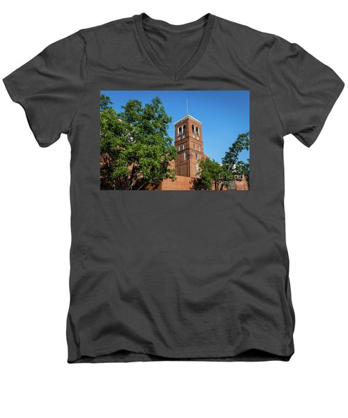 Sibley Mill Augusta Ga Men's V-Neck T-Shirt