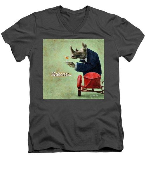 Sidecars... Men's V-Neck T-Shirt