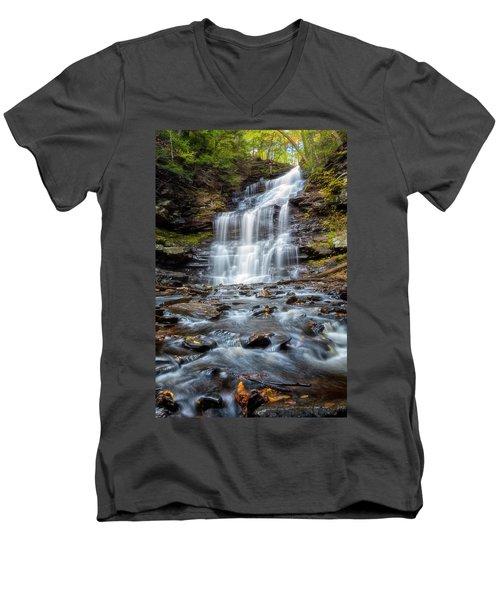 Silky Flow Men's V-Neck T-Shirt