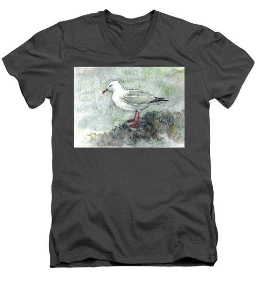 Silver Gull Men's V-Neck T-Shirt