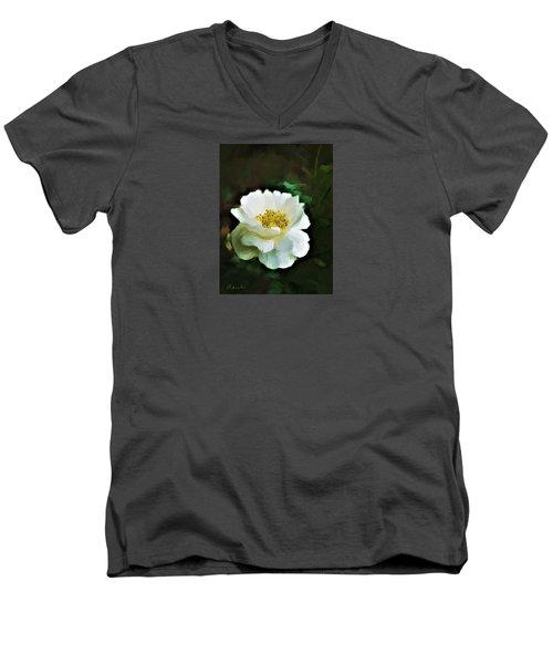 Simple Beauty Men's V-Neck T-Shirt