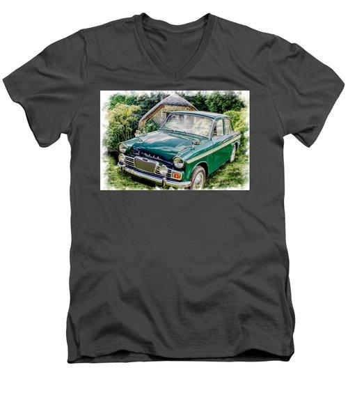 Singer Gazelle Vi Men's V-Neck T-Shirt