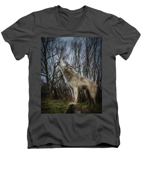 Singin Men's V-Neck T-Shirt