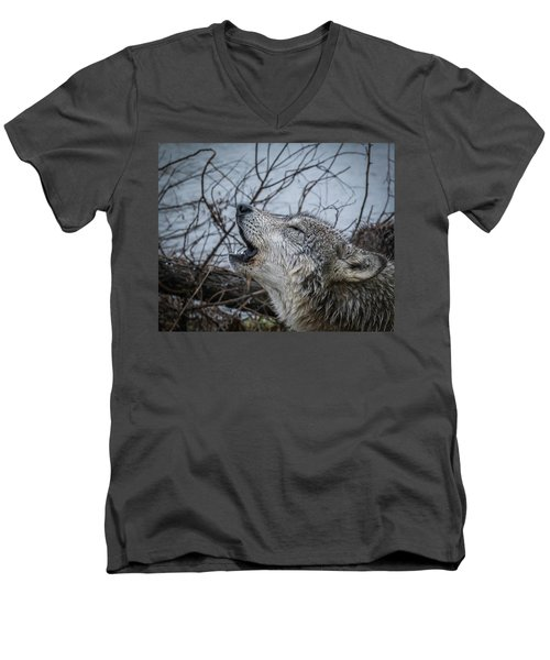 Singing The Song Of My People Men's V-Neck T-Shirt