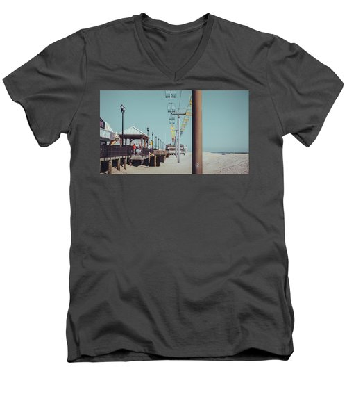 Sky Ride Men's V-Neck T-Shirt