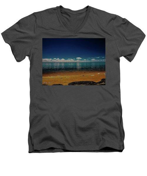 Sky Way Men's V-Neck T-Shirt