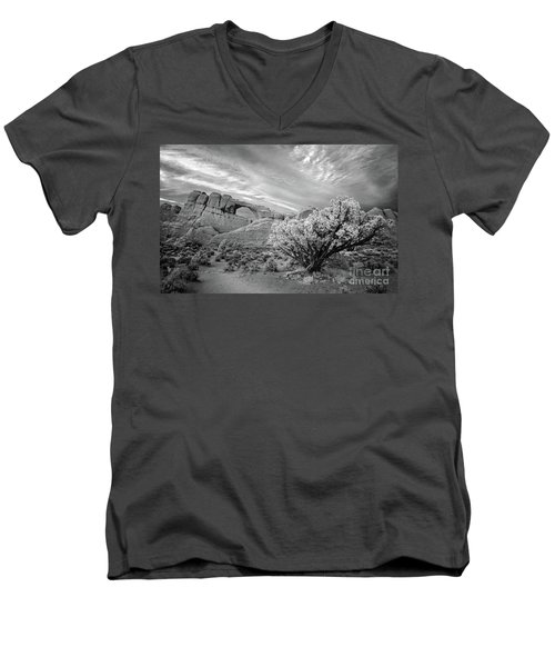 Skyline Arch Men's V-Neck T-Shirt