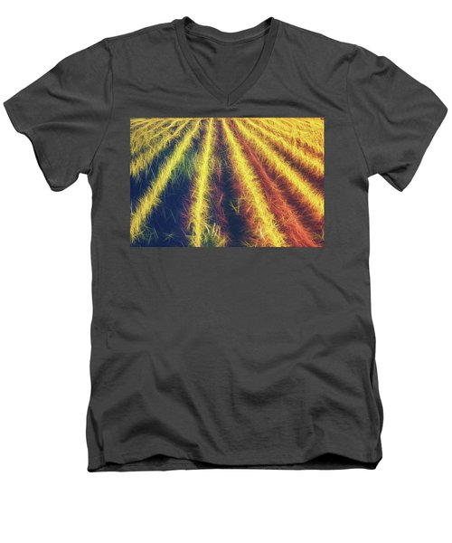 Smell Of The Corn Men's V-Neck T-Shirt