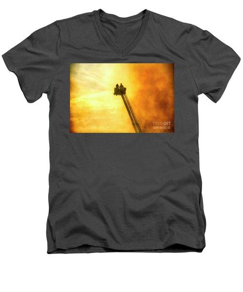 Smokey Blaze Men's V-Neck T-Shirt